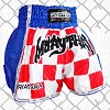 FIGHTERS - Thaibox Shorts: Kroatien-Hrvatska