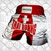 FIGHTERS - Thaibox Shorts: Schweiz-Suisse