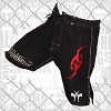 FIGHT-FIT - Fightshorts MMA Shorts / Brazilian / Schwarz / Large