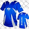 FIGHTERS - Kick-Boxing Shirt / Competition / Blau