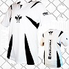 FIGHTERS - Kick-Boxing Shirt / Competition / Weiss