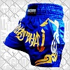 FIGHTERS - Muay Thai Shorts / Blau-Gold / Small