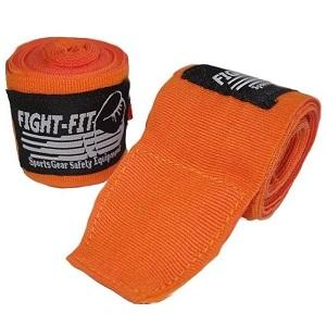 FIGHTERS - Boxbandagen / 300 cm / Elastisch / Orange