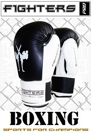 FIGHTERS - Boxhandschuhe / Competitor / Schwarz / 10 oz